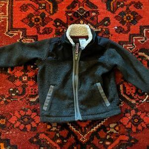 Fleece zip up 6 month